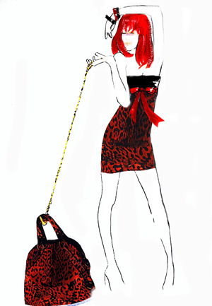 Lee Bender Fashion Illustration